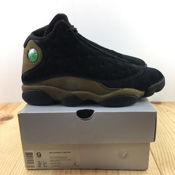 8b461865bb5d Nike Air Jordan 13 Retro Size 9 Olive Black